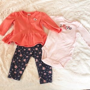 Cute 3 piece outfit for fall 🍂